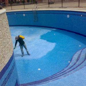 عزل حمامات سباحة